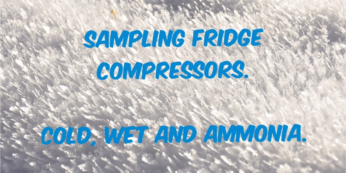 How to take fridge and air compressor samples