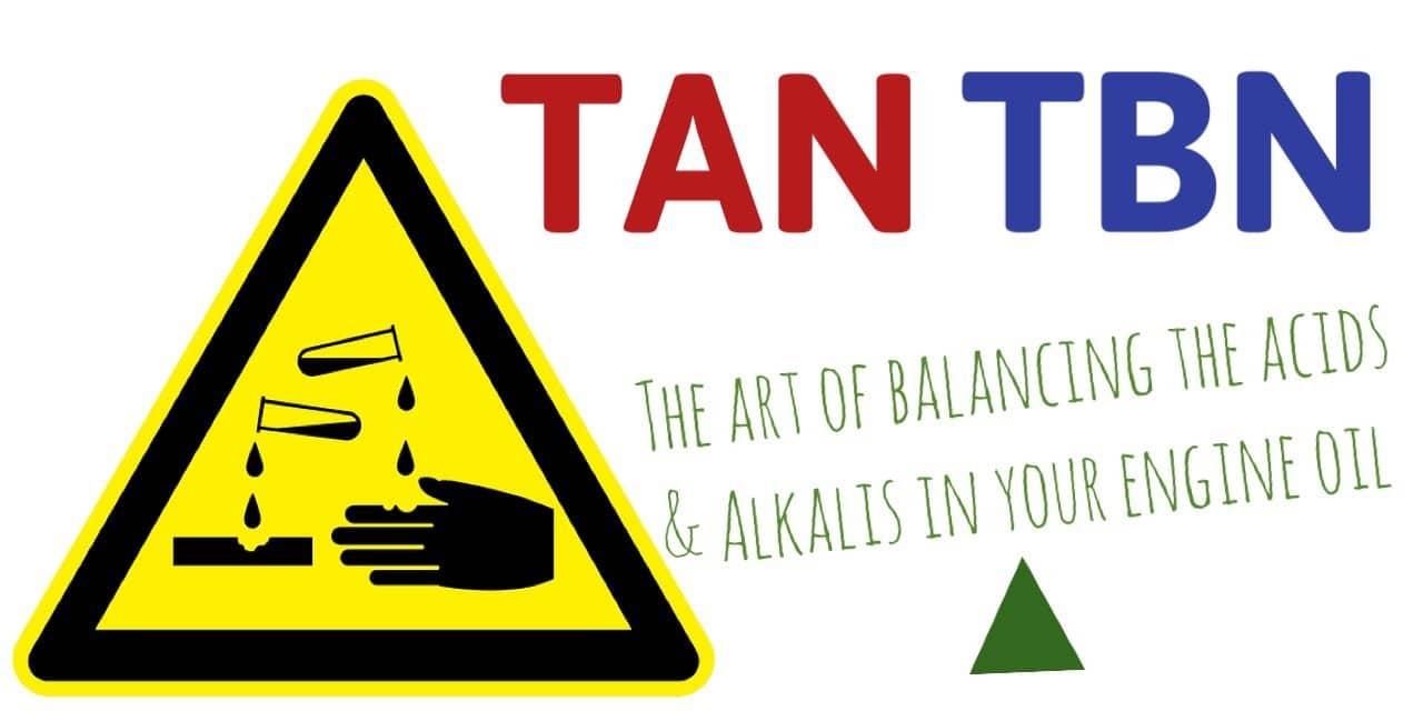 Acid Number (AN / TAN) and Base Number (BN / TBN) interpretation