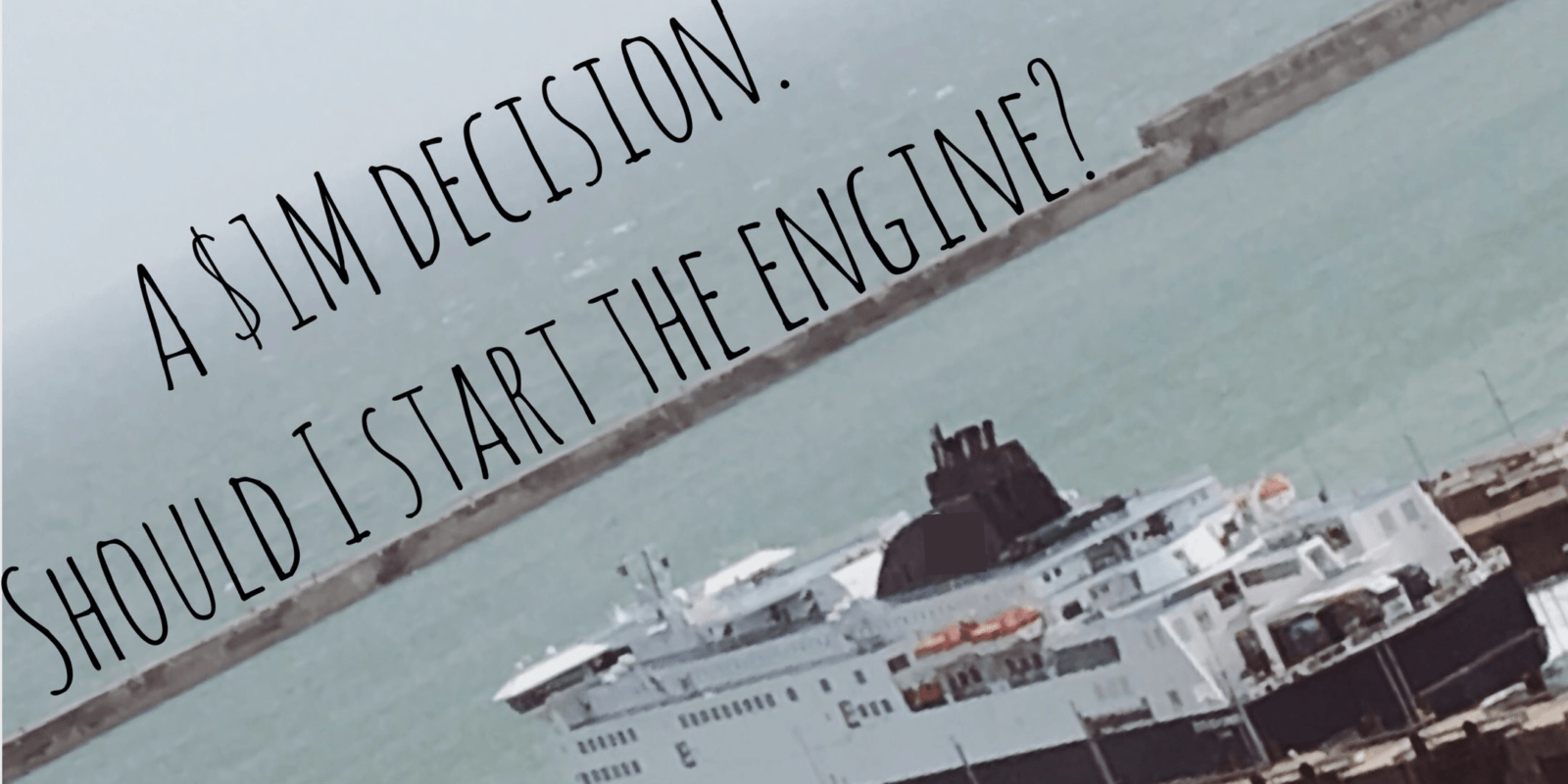 Making £1M decisions may be as simple as saying start or stop, but oil analysis makes sure it's the right one.