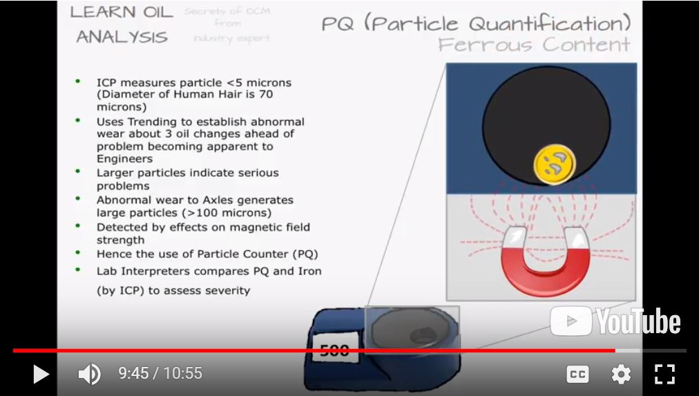 PQ preview Learn used oil analysis sample testing, lubrication reliability maintenance, predictive lab diagnostics to reduce costs & boost profits.